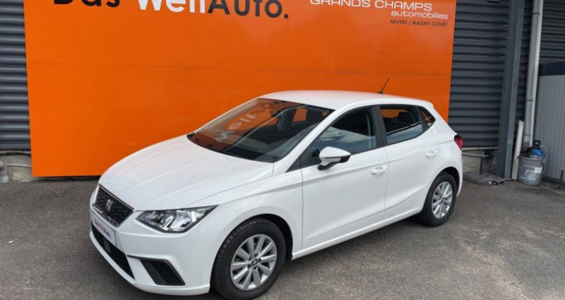 Seat Ibiza 1.0 EcoTSI 95 ch S/S BVM5 Style Blanc occasion à Bourgogne - photo n°4
