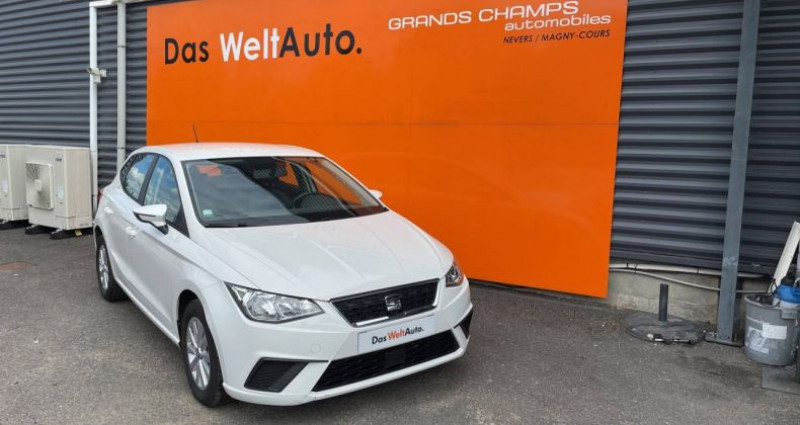 Seat Ibiza 1.0 EcoTSI 95 ch S/S BVM5 Style Blanc occasion à Bourgogne - photo n°2