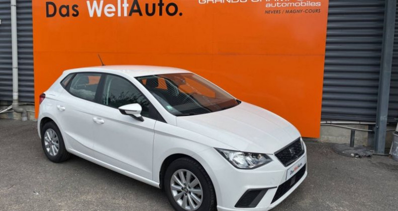 Seat Ibiza 1.0 EcoTSI 95 ch S/S BVM5 Style Blanc occasion à Bourgogne