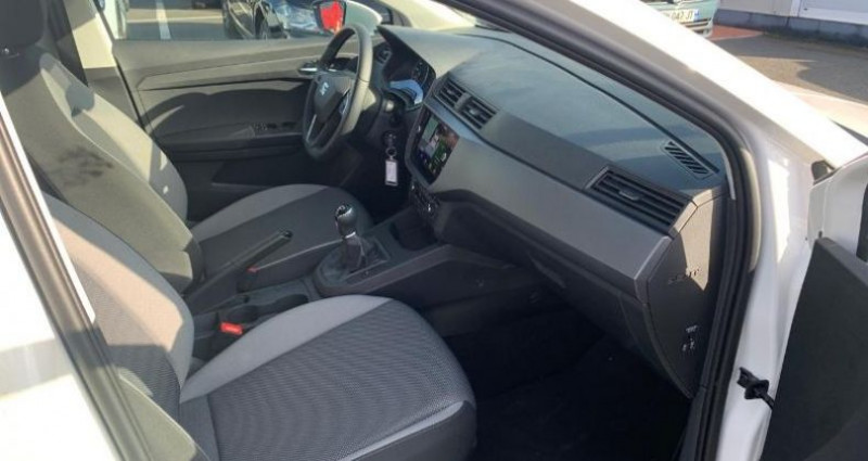 Seat Ibiza 1.0 EcoTSI 95ch Start/Stop Urban Blanc occasion à La Rochelle - photo n°7
