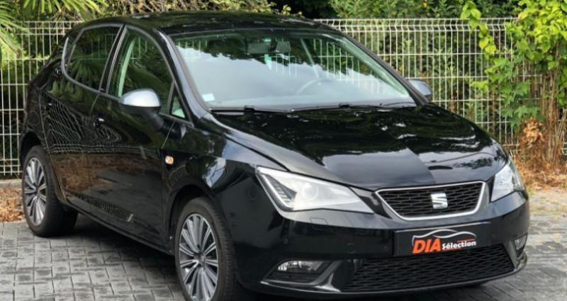 Seat Ibiza 1.2 TSI 90CH CONNECT Noir occasion à COLMAR - photo n°4