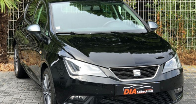 Seat Ibiza 1.2 TSI 90CH CONNECT Noir occasion à COLMAR