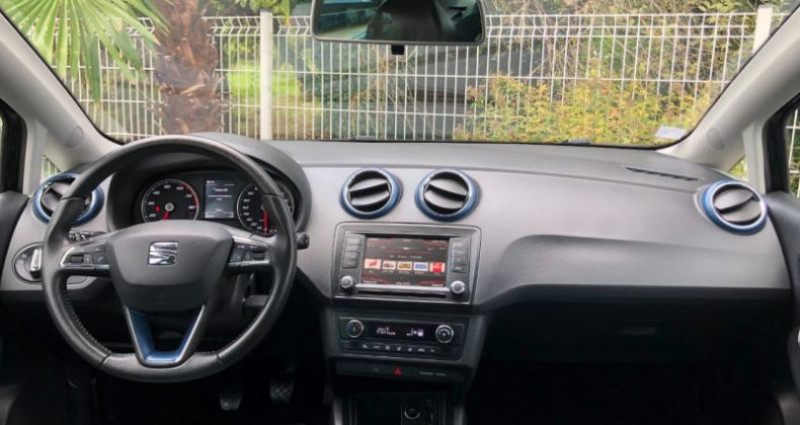 Seat Ibiza 1.2 TSI 90CH CONNECT Noir occasion à COLMAR - photo n°3