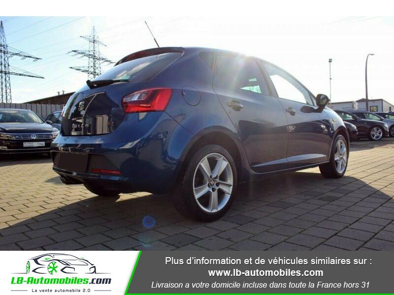Seat Ibiza 1.6 TDI 105 ch Bleu occasion à Beaupuy - photo n°3