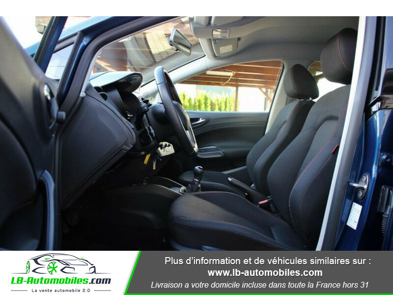 Seat Ibiza 1.6 TDI 105 ch Bleu occasion à Beaupuy - photo n°4