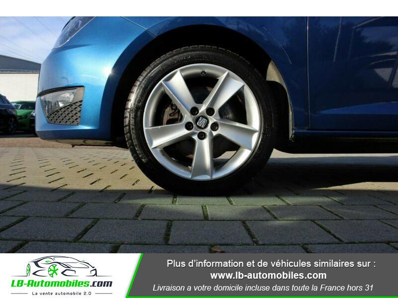 Seat Ibiza 1.6 TDI 105 ch Bleu occasion à Beaupuy - photo n°8