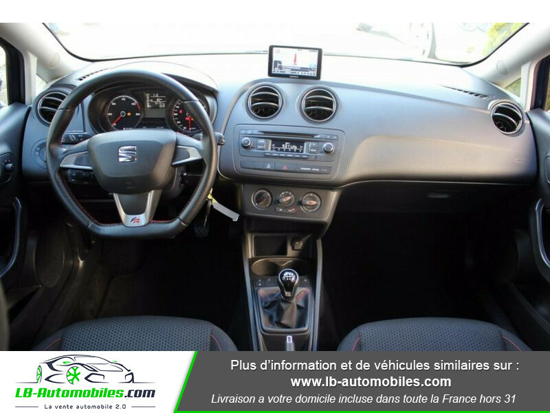 Seat Ibiza 1.6 TDI 105 ch Bleu occasion à Beaupuy - photo n°2