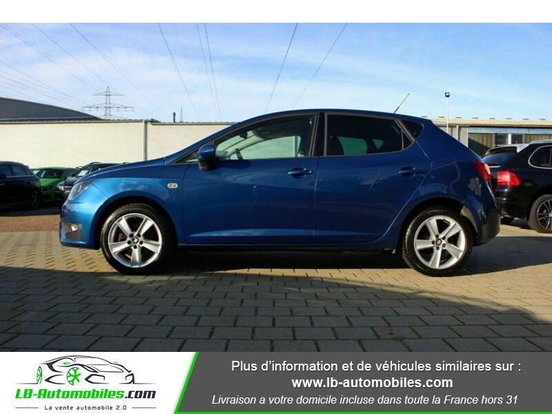 Seat Ibiza 1.6 TDI 105 ch Bleu occasion à Beaupuy - photo n°7