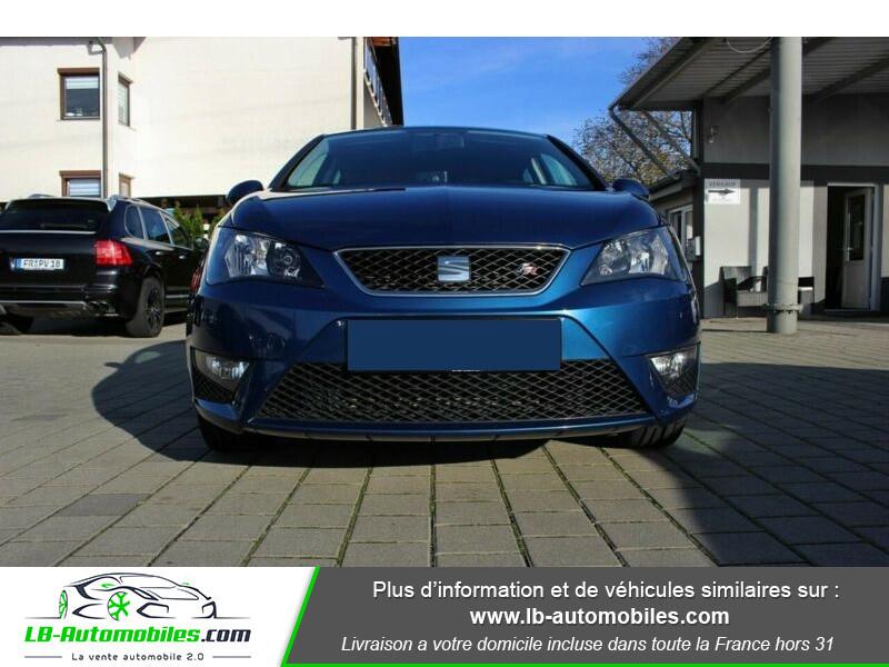 Seat Ibiza 1.6 TDI 105 ch Bleu occasion à Beaupuy - photo n°6