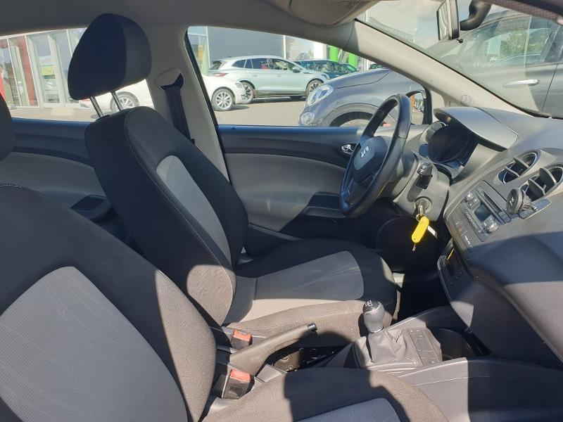 Seat Ibiza 1.6 TDI 105ch I Tech Plus 5p Gris occasion à Onet-le-Château - photo n°8