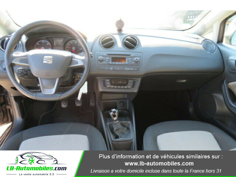 Seat Ibiza 1.6 TDI 90 ch Gris occasion à Beaupuy - photo n°2