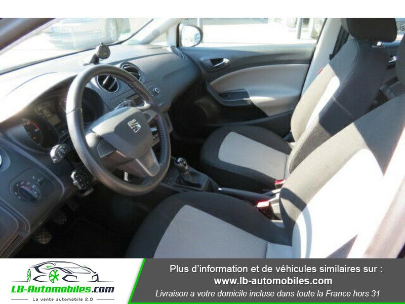 Seat Ibiza 1.6 TDI 90 ch Gris occasion à Beaupuy - photo n°4
