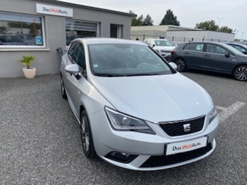 Seat Ibiza 1.6 TDI 90ch Style I Tech Edition 5p Gris occasion à TARBES  - photo n°4