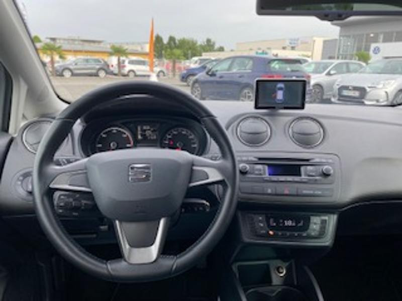 Seat Ibiza 1.6 TDI 90ch Style I Tech Edition 5p Gris occasion à TARBES  - photo n°7