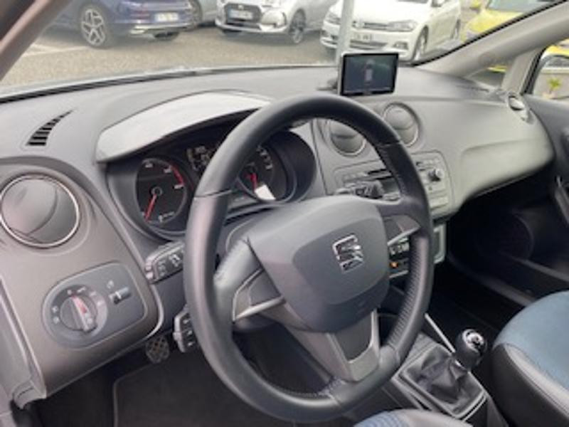 Seat Ibiza 1.6 TDI 90ch Style I Tech Edition 5p Gris occasion à TARBES  - photo n°2