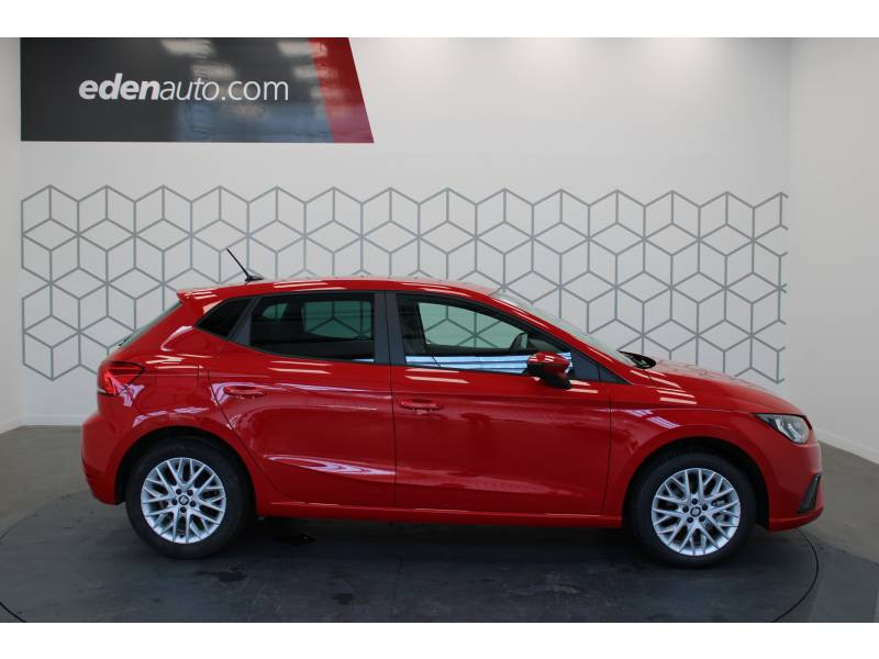 Seat Ibiza 1.6 TDI 95 ch S/S BVM5 Style Rouge occasion à LONS - photo n°2