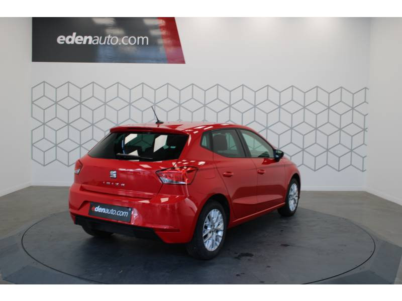 Seat Ibiza 1.6 TDI 95 ch S/S BVM5 Style Rouge occasion à LONS - photo n°3