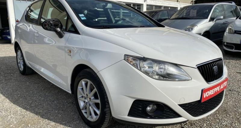 Seat Ibiza 1.6 TDI105 FAP STYLE 5P Blanc occasion à VOREPPE - photo n°3