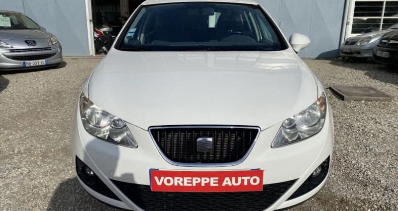 Seat Ibiza 1.6 TDI105 FAP STYLE 5P Blanc occasion à VOREPPE - photo n°2