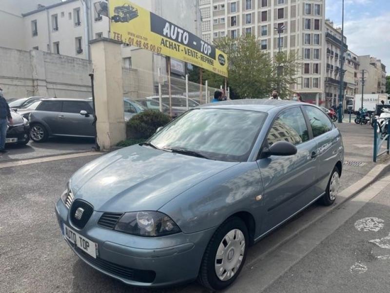 Seat Ibiza 1.9 SDI64 FRESH 3P Bleu occasion à Pantin