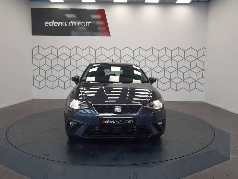 Seat Ibiza BUSINESS 1.0 EcoTSI 95 ch S/S BVM5 Style Gris occasion à LONS - photo n°2
