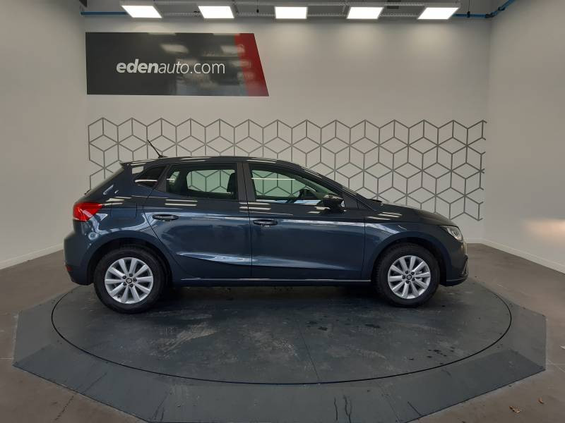 Seat Ibiza BUSINESS 1.0 EcoTSI 95 ch S/S BVM5 Style Gris occasion à LONS - photo n°3