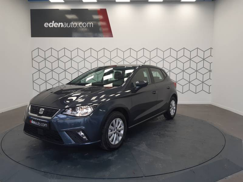 Seat Ibiza BUSINESS 1.0 EcoTSI 95 ch S/S BVM5 Style Gris occasion à LONS