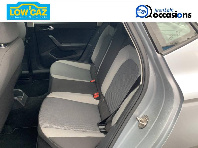 Seat Ibiza Ibiza 1.0 75 ch S/S BVM5 Style 5p Gris occasion à La Ravoire - photo n°17