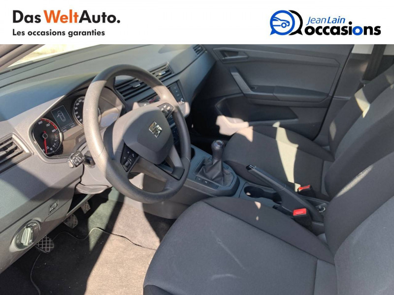 Seat Ibiza Ibiza 1.0 80 ch S/S BVM5 Reference Business 5p Blanc occasion à Seynod - photo n°11