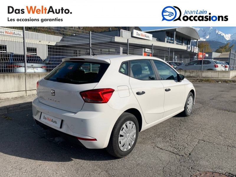 Seat Ibiza Ibiza 1.0 80 ch S/S BVM5 Reference Business 5p Blanc occasion à Seynod - photo n°5