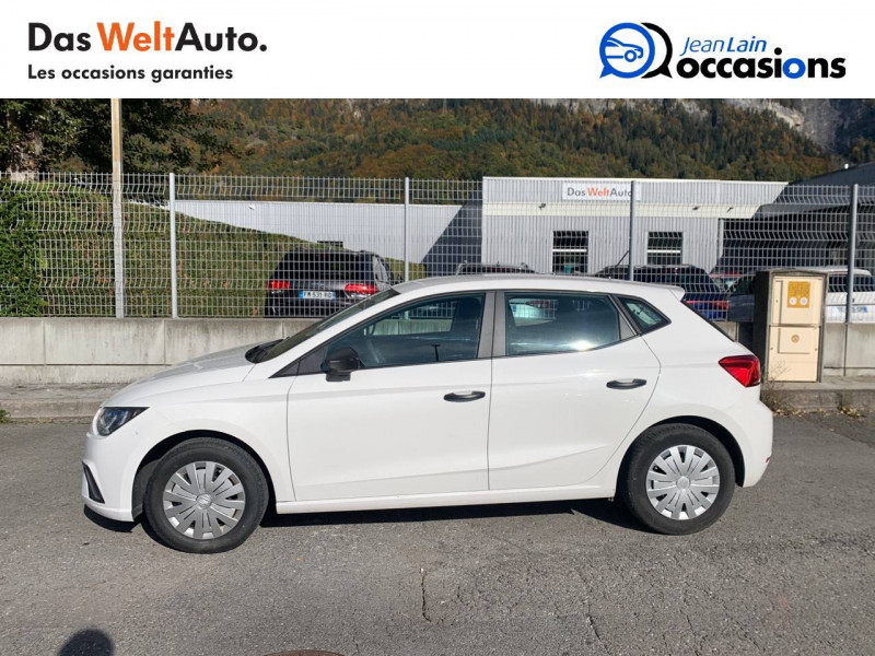 Seat Ibiza Ibiza 1.0 80 ch S/S BVM5 Reference Business 5p Blanc occasion à Seynod - photo n°8