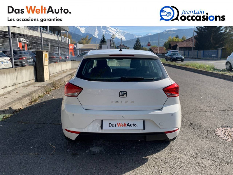 Seat Ibiza Ibiza 1.0 80 ch S/S BVM5 Reference Business 5p Blanc occasion à Seynod - photo n°6