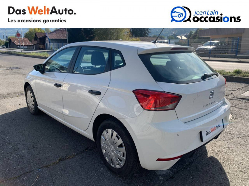 Seat Ibiza Ibiza 1.0 80 ch S/S BVM5 Reference Business 5p Blanc occasion à Seynod - photo n°7