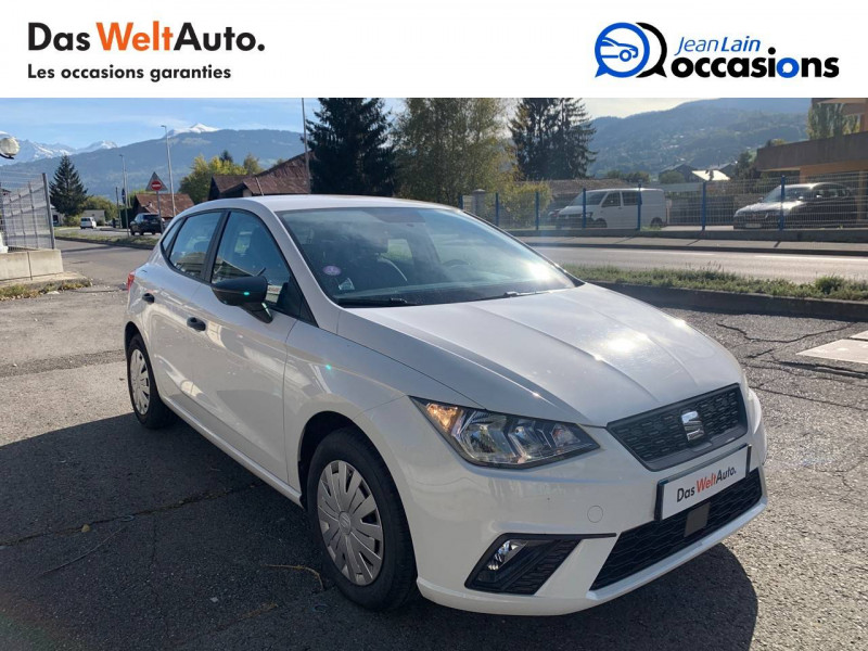Seat Ibiza Ibiza 1.0 80 ch S/S BVM5 Reference Business 5p Blanc occasion à Seynod - photo n°3
