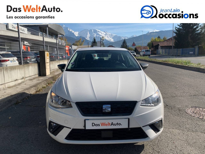 Seat Ibiza Ibiza 1.0 80 ch S/S BVM5 Reference Business 5p Blanc occasion à Seynod - photo n°2
