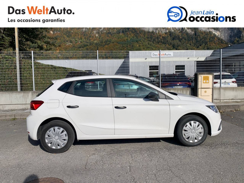 Seat Ibiza Ibiza 1.0 80 ch S/S BVM5 Reference Business 5p Blanc occasion à Seynod - photo n°4