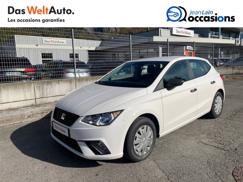 Seat Ibiza Ibiza 1.0 80 ch S/S BVM5 Reference Business 5p Blanc occasion à Seynod