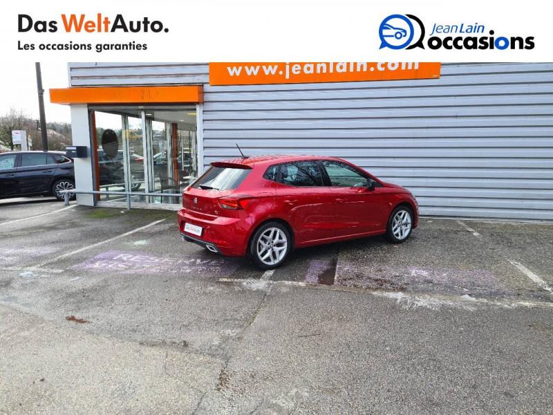 Seat Ibiza Ibiza 1.0 EcoTSI 115 ch S/S BVM6 FR 5p Rouge occasion à Bellegarde-sur-Valserine - photo n°5