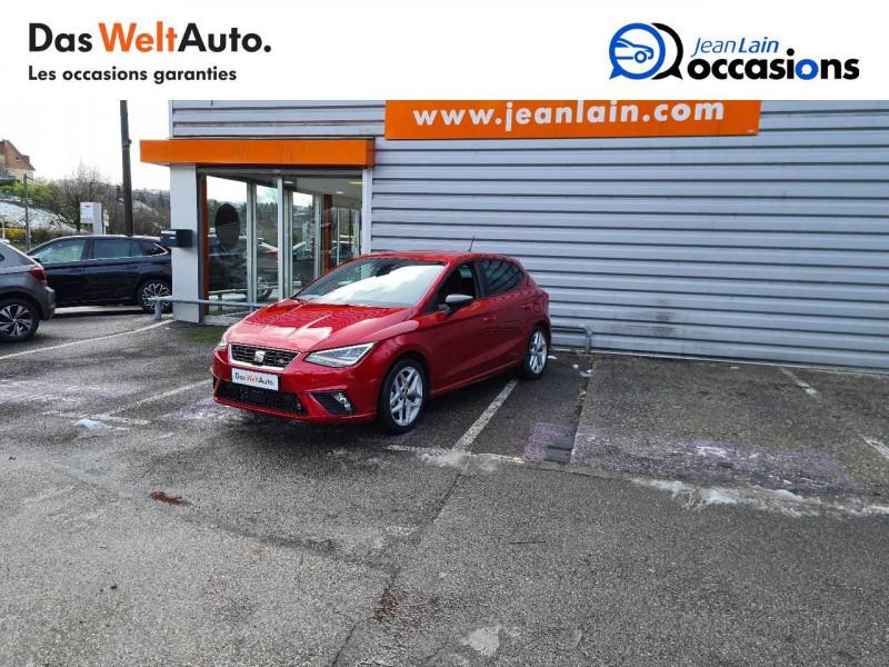 Seat Ibiza Ibiza 1.0 EcoTSI 115 ch S/S BVM6 FR 5p Rouge occasion à Bellegarde-sur-Valserine