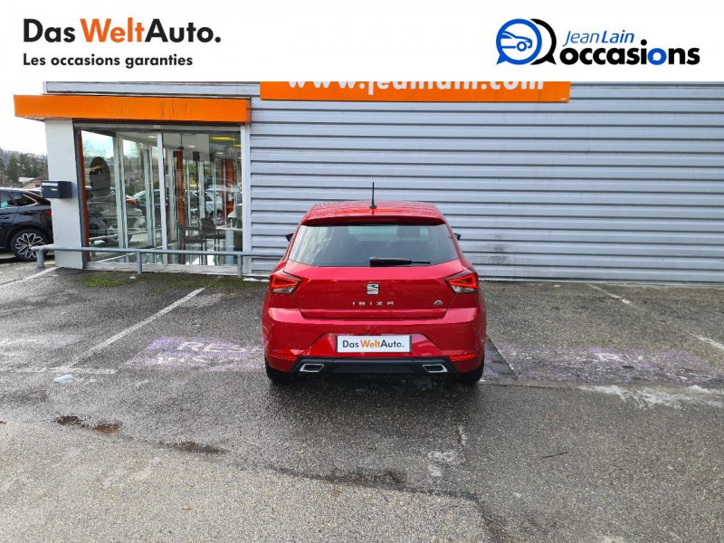 Seat Ibiza Ibiza 1.0 EcoTSI 115 ch S/S BVM6 FR 5p Rouge occasion à Bellegarde-sur-Valserine - photo n°6