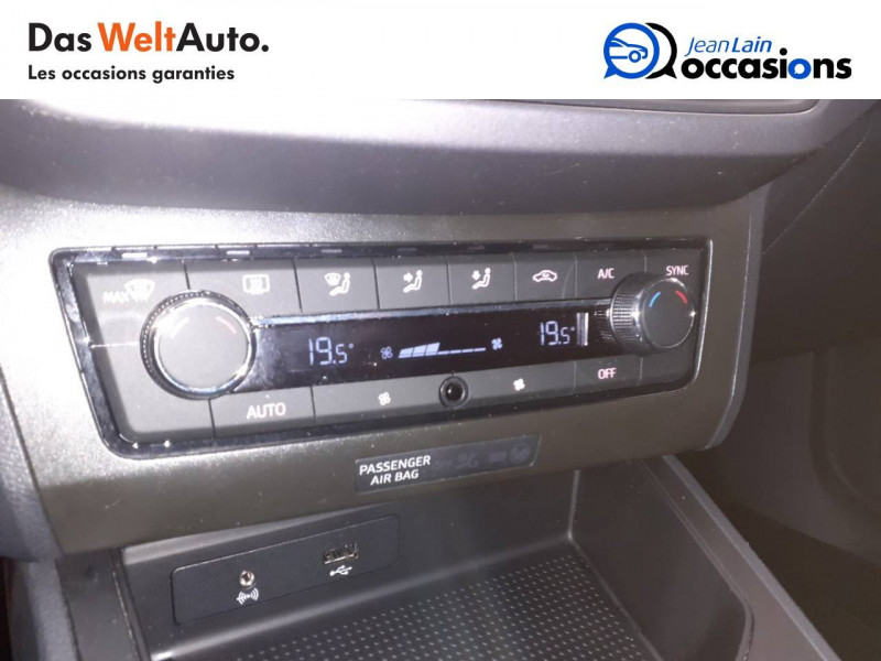 Seat Ibiza Ibiza 1.0 EcoTSI 115 ch S/S BVM6 FR Sport Line 5p Blanc occasion à Voiron - photo n°14