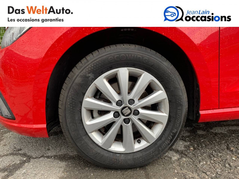 Seat Ibiza Ibiza 1.0 EcoTSI 115 ch S/S BVM6 Style 5p Rouge occasion à Sallanches - photo n°9