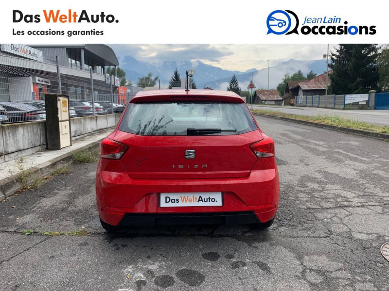 Seat Ibiza Ibiza 1.0 EcoTSI 115 ch S/S BVM6 Style 5p Rouge occasion à Sallanches - photo n°6
