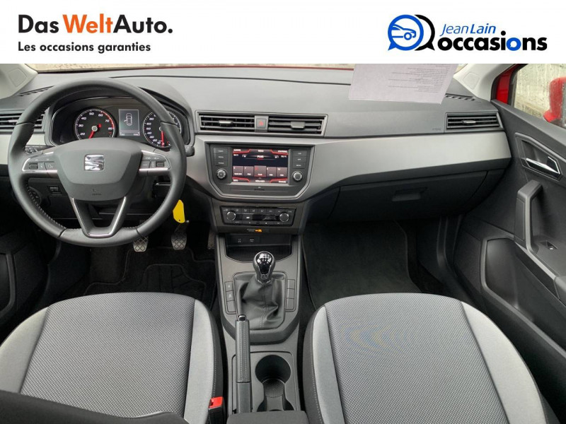 Seat Ibiza Ibiza 1.0 EcoTSI 115 ch S/S BVM6 Style 5p Rouge occasion à Sallanches - photo n°18