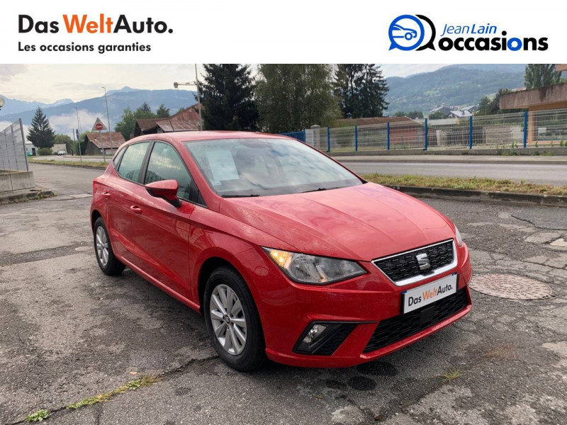 Seat Ibiza Ibiza 1.0 EcoTSI 115 ch S/S BVM6 Style 5p Rouge occasion à Sallanches - photo n°3