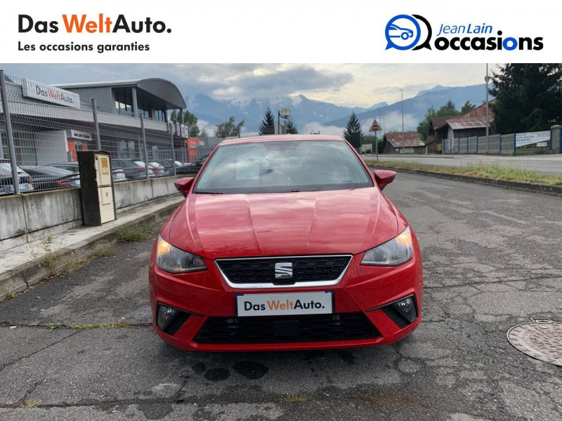 Seat Ibiza Ibiza 1.0 EcoTSI 115 ch S/S BVM6 Style 5p Rouge occasion à Sallanches - photo n°2