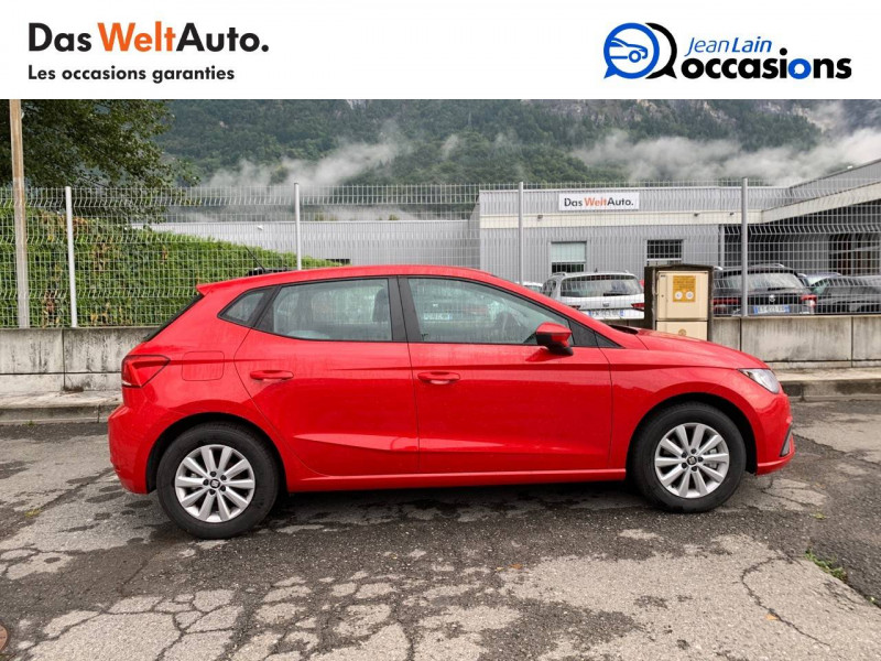 Seat Ibiza Ibiza 1.0 EcoTSI 115 ch S/S BVM6 Style 5p Rouge occasion à Sallanches - photo n°4