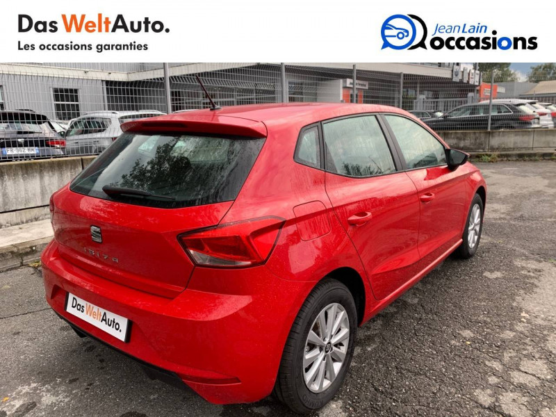 Seat Ibiza Ibiza 1.0 EcoTSI 115 ch S/S BVM6 Style 5p Rouge occasion à Sallanches - photo n°5