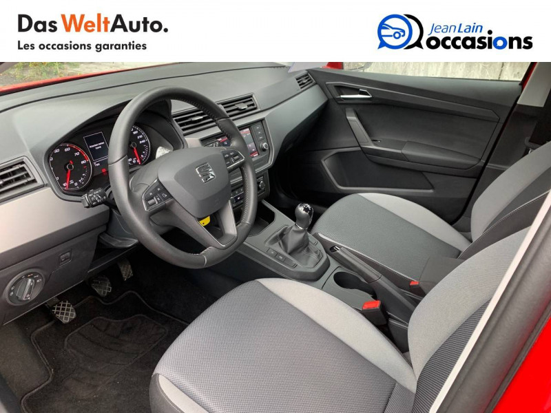 Seat Ibiza Ibiza 1.0 EcoTSI 115 ch S/S BVM6 Style 5p Rouge occasion à Sallanches - photo n°11