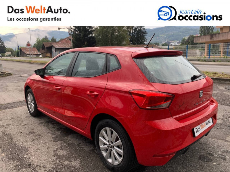 Seat Ibiza Ibiza 1.0 EcoTSI 115 ch S/S BVM6 Style 5p Rouge occasion à Sallanches - photo n°7
